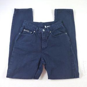 Calvin Klein Hi Rise Petite Straight Fit Jeans